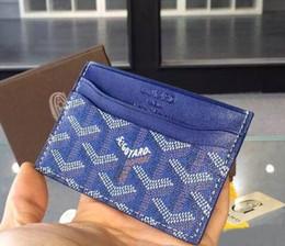 2019 titolare del controllo di affari 2019 New Male Genuine Leather gy wallet Casuale corta titolare della carta tasca borsa moda portafogli donna uomo titolare della carta