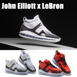 35485360d 2019 scarpe da uomo da basket Limited John Elliott X LeBron 10 Icona  Lebron10 QS che esegue Friends Family con scatola