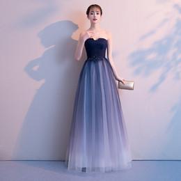 d5fc429c5dac New Sexy Chiffon Ombre Prom Dresses Lungo A Line Plus Size  pavimento-lunghezza formale da sera Celebrity Celebrity Gown economico  abiti sexy di ombre
