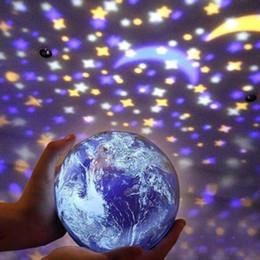 Projecteur multicolore en Ligne-BRELONG Star Night Light Lampe De Projection Romantique Star Light Festival Décoration Projecteur Anniversaire De Noël Chambre À Coucher Multicolore