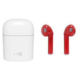 Затычки samsung samsung онлайн-Новый i7 I7s Близнецы bluetooth-гарнитура i8x bluetooth-гарнитура earplug стерео 4.2 беспроводная Bluetooth-гарнитура наушники для iphone