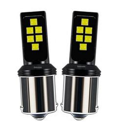 2019 luz de marcha inversa led 2 PCS 1156 BA15s 7506 P10W R10W Cree Chips LEVOU Carro Turn Signal Luz de Freio Cauda Lâmpada Auto Traseira Reversa Lâmpada de Circul ... luz de marcha inversa led barato