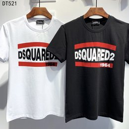 magliette bianche in tessuto muscolare Sconti La primavera e l'estate della maglietta 2020SS ultimo stile, maglietta di svago degli uomini, alta qualità del marchio T-shirt per il tempo libero DTS521