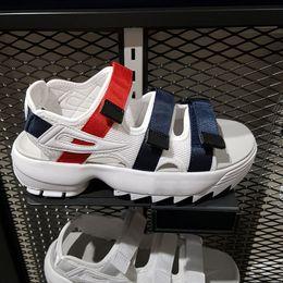 Eva água sapatos on-line-Fila disruptor 2 II original homens mulheres sandálias de verão preto branco vermelho Anti-derrapante de secagem rápida ao ar livre chinelos de sapato de água macia tamanho 36-4