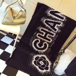 2019 sciarpa a righe bianche blu Nuovo Mens donne luxurys sciarpa di marca Designers Cachemire Cotone Sciarpa Classic 180x70cm molli caldi moda scialle Sciarpe trasporto libero