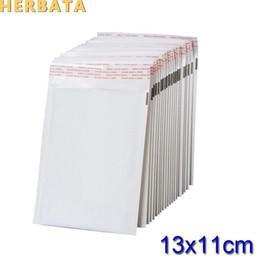 (110 * 130mm) 100pcs / lots Blanc Perle Film Enveloppe à Bulles Courrier Sacs Emballages Imperméables Sacs postaux CL-2022 ? partir de fabricateur