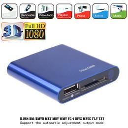 Elistooop 1080 P Mini HDD Medya Oynatıcı HDMI AV USB HOST Full HD SD MMC Kart Okuyucu Ile Destek H.264 MKV AVI 1920 * 1080 P 100 Mbps nereden