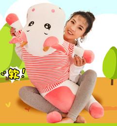 Cadeaux de bétail en Ligne-Nouveau mignon pansement créatif bovins bétail long oreiller jouets en peluche fabricants en gros enfants filles cadeau poupées