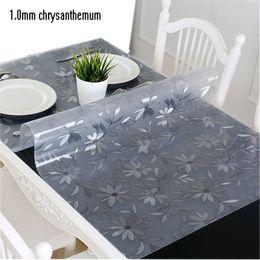 PVC Masa Örtüsü Şeffaf Masa Örtüsü ile Su Geçirmez Masa Örtüsü Mutfak Desen Yağ Masa Örtüsü Cam Yumuşak Bez 1.0mm Masa Örtüsü nereden
