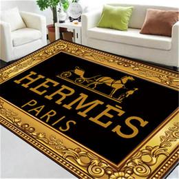 2019 alfombras con estampado animal Animal Impreso Alfombras Negro antideslizante Alfombra de moda Todas las estaciones Alfombras de alta calidad Marca Rectángulo Alfombras alfombras con estampado animal baratos