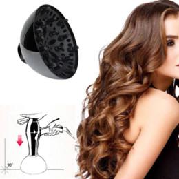 2019 sopro de cabelo 1 Pcs Secador de Cabelo Encaracolado Difusor Difusor Lonic Universal Blower Ferramenta atacado Styling Acessórios Barato Styling Acessórios desconto sopro de cabelo