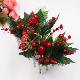 1 mazzo di accessori per la decorazione dell'albero di Natale artificiale simulazione di pino pianta fai da te taglia e incolla confezione regalo decorazione artigianato C18112601 da