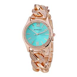 Argentina BAOSAILI Top Brand Mujeres Relojes de Diamantes de Acero Inoxidable Señoras Cadena Reloj de Pulsera de Moda de Lujo Reloj de pulsera relogio BS-002 cheap ladies wrist chain watch Suministro