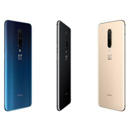 Usado OnePlus 7 Pro 6GB / 8GB 128GB / 256GB Smartphone 48MP Câmeras Triplo Snapdragon 855 6,67 polegadas AMOLED Fingerprint UFS 3.0 de