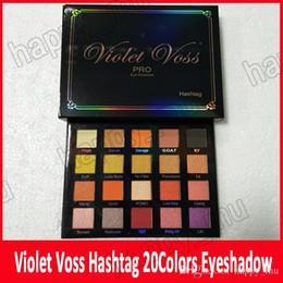 smalto di chiodo shimmer all'ingrosso Sconti Nuovo Trucco Violet Voss Holy Hashtag Pro Palette per ombretti REFOR Ombretto matteo 20 colori brillanti