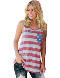 Yaz Amerikan bayrağı tüm pamuk konfor yay yelek yazdırmak supplier american flag vests nereden amerikan bayrağı yelekleri tedarikçiler