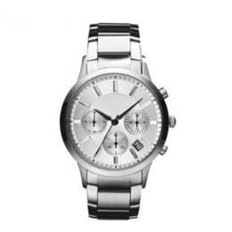 relogio sport Coupons - Top 2019 Men's Watch AR Stainless Steel Brand Fashion Casual Military Quartz Sports Watch Leather Strap Men's Watch relogio masculino -