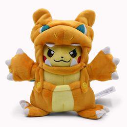 Anime Cartoon Poupée Pikachu Cosplay Charizard En Peluche Doux En Peluche Jouets Grand Noël Peluche Cadeau Pour Enfants 2018 Nouveau Style Y190530 ? partir de fabricateur