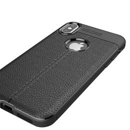 2019 handy-slip-fall Weiche Silikon-TPU-Handy-Fälle stoßfestes Antibeleg-Telefon-Abdeckung für iPhone X 6 7 8 günstig handy-slip-fall