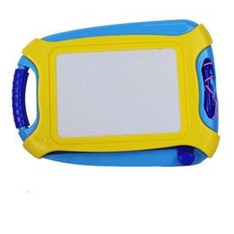 Kinder malereien online-Magnetische Reißbrett Spielzeug und Skizze Erasable Pad Schreiben Kinder Kleinkind Junge Mädchen Malerei Lernen Geschenk Wohnkultur GGA1170