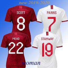 Deutschland NEUE 2019 ENGLAND Frauen Fußball Trikots WORLD CUP 2020 HOME RED KANE STERLING VARDY RASHFORD DELE Fußball Trikots cheap new england football jersey Versorgung