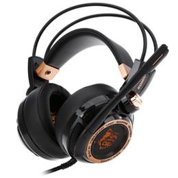 Giochi virtuali online-Original Somic G941 Active Noise Cancelling 7.1 Virtual Surround Sound USB Gaming Headset con microfono Funzione di vibrazione drop shipping