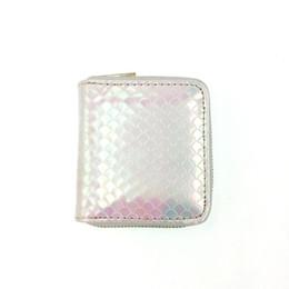 2019 carteira de telefone rosa New Minil PU Mulheres Sereia Carteira De Luxo Bordado Crianças Bolsas Brilhante Rosa Novidade Bolsa de telefone Móvel sacos desconto carteira de telefone rosa