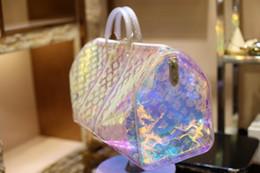 Novo estilo de Alta qualidade dos homens de luxo designer de viagem saco de bagagem dos homens totes keepall bolsa de couro duffle bag marca de moda designer de luxo saco de