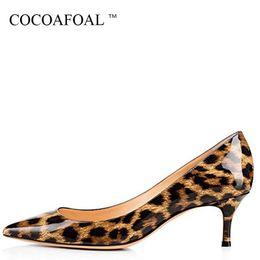 Rosa leopard pumpen online-Kakao Frau Lila High Heels Schuhe Große Größe 43 44 45 Party Sexy Leopard Schuhe Blau Weiß Grün Rosa Hochzeit Brautschuhe