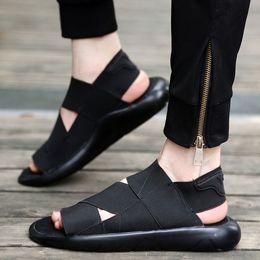 y3 sandali Sconti Estate Y-3 Sandalo Qasa Nero Nuovo y3 Sandali KAOHE Per Uomo Donna Y3 Pantofola Vendita calda di alta qualità