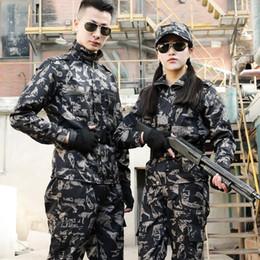 2019 veste de combat de l'armée En plein air Chasse tactique Vêtements Hommes Costumes Multicam Veste + Pantalon Armée tactique camouflage Vêtements Uniformes de combat veste de combat de l'armée pas cher