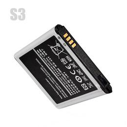 2019 probando la batería del iphone Para Samsung Galaxy S3 Batería original S3mini G130 S5830 I8552 J120 Batería de repuesto S3 III I9300 batería Akku