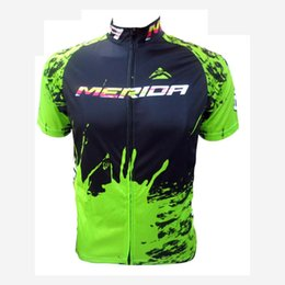 2019 merida ciclismo lycra Nova Equipe merida Camisa de Ciclismo Camisa de Manga Curta Ropa ciclismo MTB Bicicleta Camisa Quick Dry Roupas de Bicicleta de Verão Ao Ar Livre Sportswear Y060901 merida ciclismo lycra barato