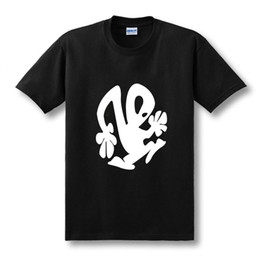 Modo plástico online-Modo Zomer Korte Mouwen la camiseta de DJ de Techno Plastikman Richie Hawtin Electro plástico Mensen camiseta Mannen Maat