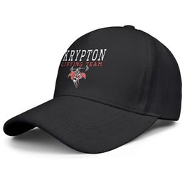Superman chapéu preto on-line-Superman Krypton Levantamento Equipe logotipo mens preto e mulheres trucker cap bola legal designer em branco uk chapéus Hipster