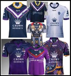 Camicia di storm online-2019 2020 melbourne storm 2019 home away rugby Maglia maglia nazionale Jersey Rugby League 18 19 MELBOURNE STORM magliette s-3xl