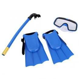 tubo de respiração de máscara de natação Desconto Óculos de natação Crianças Barbatanas de Mergulho Óculos de Máscara Tubo de Respiração Ajustável Fivela Óculos de Natação Fivela equipamentos de mergulho