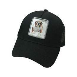 Hommes Femmes Couples D'été Casquette De Baseball Animaux Patch Brodé Hip Hop Mesh Patchwork Réglable Snapback Trucker Hat ? partir de fabricateur