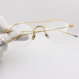 e071eed81a Retro Men Optical Glasses Frame TB903 Spectacle Frames Brand Designer Round  Eyeglasses Frames for Women Myopia Glasses with Original Case