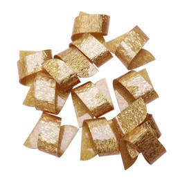 bagues en plastique pour serviettes Promotion Serviette Rings Beauté Spécial Irrégulier En Plastique Porte-Serviette Pour Mariage Hôtel Décoration De Table 12 Pcs par lot