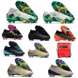 2020 scarpe Mercurial Superfly VI Calcio 360 Elite FG XII 12 CR7 SE Ronaldo Neymar Mens Superfly 7 Elite SE Scarpe da calcio Scarpe chiodate