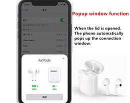 Canada Avec w1 chip1.1 airpods Oreillettes sans fil Bluetooth à double oreille avec deux appels d'oreille avec effleurement pour IOS / Android Offre