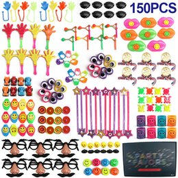 game prizes Promo Codes - 150 Pcs Birthday Pinata Fillers Assorted Small Toys Set Kids Toy Prizes Game Party Supplies Giveaways Prizes Party Gift Favors SH190923