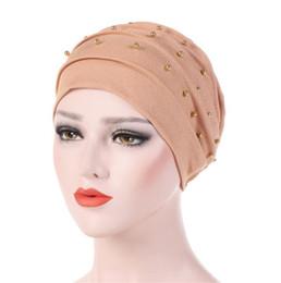 2019 fascia di turbante hijab Hijab in tinta unita 5 colori fascia avvolgente Georgette Hijab islamico musulmano Veli basici Lady Turbante Hijab sconti fascia di turbante hijab