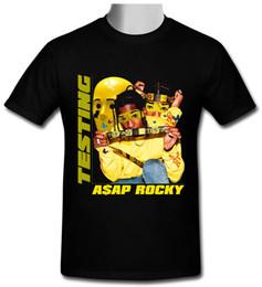 T-shirt basique à manches courtes pour hommes Asap Rocky ? partir de fabricateur