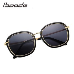 d61a9ef0e IBOODE Classic Vintage Round Metal Frame Sunglasses Fashion Colorful Ocean  Mirror Sun Glasses for Men Women Retro Eyewear UV400 round classic vintage  ...