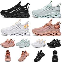 Las mejores zapatillas naranjas online-La mejor calidad para hombre de los zapatos corrientes Triple Negro Blanco Naranja Verde ligero y transpirable para mujer Entrenadores de diseño de jogging zapatillas de deporte