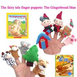 детские игрушки Скидка 40 конструкций рождественские пальцы Куклы Плюшевые игрушки Санта-Клаус куклы Чучела рождественские символы семьи Пальцы Наборы Родитель-ребенок игрушки