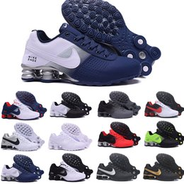 Scarpe da ginnastica nz online-Nike TN Plus Shox Deliver air max New Shox Deliver 809 Men Running Shoes Muticolor Moda Donna Mens DELIVER OZ NZ Athletic Trainers Sport Sneakers 36-46 A588