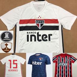 f2dc291e09 19 20 Soccer Jersey São Paulo Tche Pato Peres Everton Hernanes Hudson Toro  2019 Camisa de futebol São Paulo Camisa de Futebol Kits Maillot